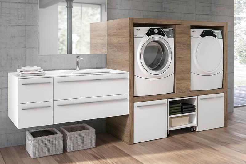 Arredamento lavanderia paolo barzotti for Arredo per lavanderia di casa