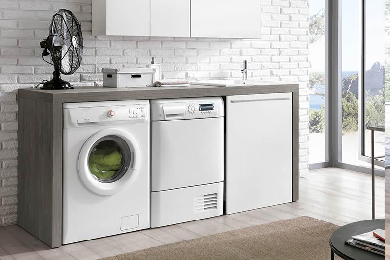 Vasca Da Lavanderia : Mobili lavanderia coprilavatrice ed asciugatrice scopri il bagno